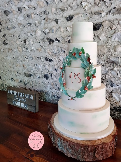 Wedding Cakes - Zoe's Cake Studio - Cake maker & decorator