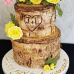 2 Tier Tree Stump 50th Anniversary